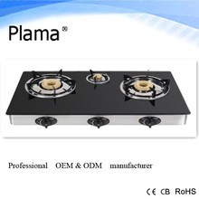 Gas Stove 2015 Table hot seller Glass top indian Gas Hob Gas Cooker