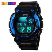 multifunction outdoor men sports 50m waterproof skmei 1054 digital watch