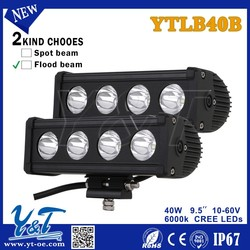 Y&T DC9-70V 40W ROOF OFF ROAD TRUCK TRAILER HIGH POWER 40W LED LIGHT BAR