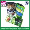 2015 new fashion custom printed colorful pet food bag