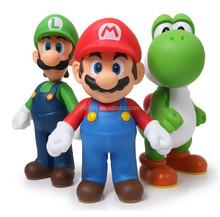 Custom pvc mario figures toy, OEM pvc super mario action figures,Custom super maria hot toys action figures