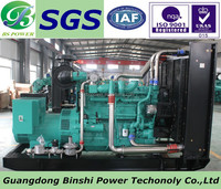 Hot Sale 250KW Electric Natural Gas Generator Powered by Cummins Engine