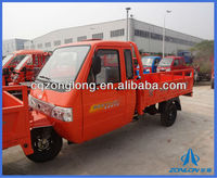 200cc Water-cooling Cargo Motor Tricycle with Cabin