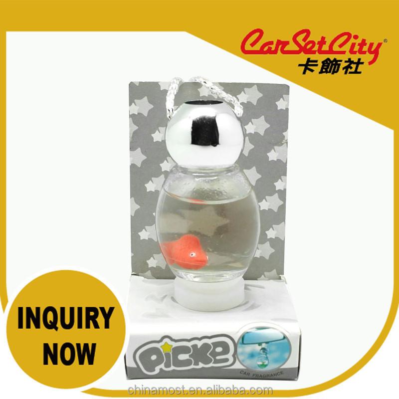 (CS-27535-4) CarSetCity Cute Firefly Goldfish Ocean Fresh Scent 27ml Car Air Freshener