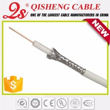 Linan coaxial cable factory rg6 cable,rg59 cable CCTV cable,rg59+2c rubber cable