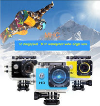 Lowest Price ! SJ4000 Full HD720P 140Degree Wide Angle Lens 5MP Sport Action Camera
