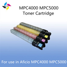 Factory price toner cartridges for ricoh mp c5000, mpc4000 aficio mpc5000 copier toner cartridge