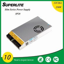 12V/20A AC/DC Switching Power Supply, 100W, CE Certified, RoHS Directive-compliant