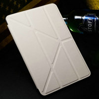 Hot Selling Cheap Price Tablet Accessory of PU Leather Stand Different for Ipad Smart Cover Case Especially for Ipad Mini 1