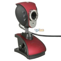 High Definition Images And Video USB PC Camera Red