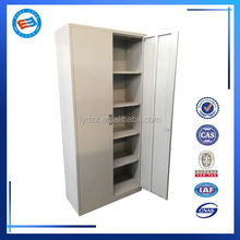 electronic storage cabinet with 4 shelves