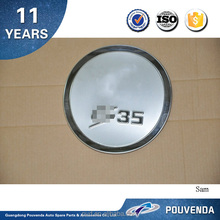 High Quality Low Price Chrome Fuel Tank Cover for 2012+ Changan CS35 gas/oil tank cover