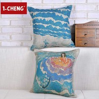 Creative Fashion Maritime Customs Blending Pillow Sofa Decorative Cushion For Leaning On