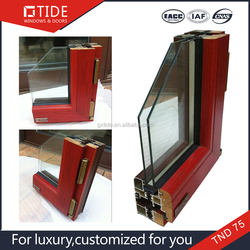 Made in china construction& real estate Newest building materials,heat insulation window and door