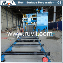 RV69 Automatic Turbine type sand blast machine / Sandblaster