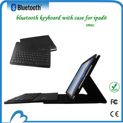 Latest Detachable Leather case with bluetooth keyboard for ipad air 2