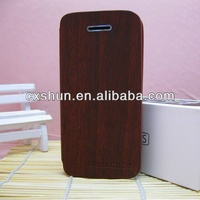 Fashion red wood cover case for samsung galaxy s3 i9300 case made in china