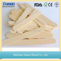 best sale mini wood spoons used for commercial ice makers