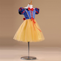 OEM service latest princess costume frock designs for small girls
