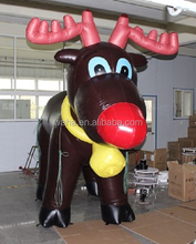 10ft brown inflatable deer/cartoon/model/animal/character/replia/3M for christmas decoration display/advertising/promotion W487