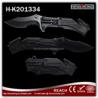 Hot sale 6in 1function LED folding camping knives designs,free sample pocket knives