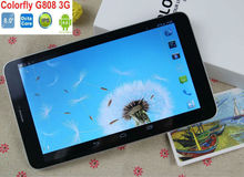 """Original Colorful G808 Tablet 3G WCDMA OS 4.2 MTK6592 Octa Core 1+8GB 5MP+2MP 8.0""""1280*800 MINI phone call tablet"""