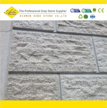 pink G635 Split and chiselled face granite stone wall covering tiles