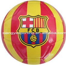 machine stitched size 5 soccer ball/football