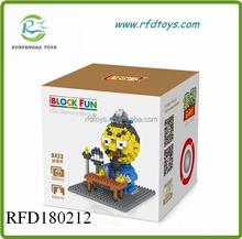 Children interesting building bricks toys loz blocks plastic stacking blocks