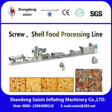 3D Chips With holes puffed food machine