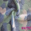 100% de poliéster de impresión offset de tela de franela& manta