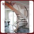 modelo de escaleras curvas escalera hermosa de madera