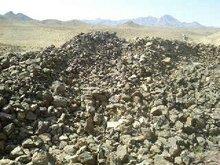 Fer et du minerai de titane