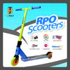 dirt scooter, gas scooter, three wheel motorcycle scooter JB234A (EN14619 Certificate )