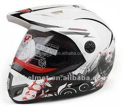2015 NEW DESIGN ECE DOT and NBR off road helmet with visor 630