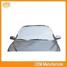 oxford+pp fabric paper car sunshade,snow shade at factory price