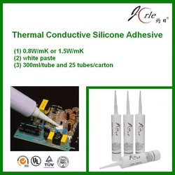 white thermal transfer adhesive for electronic components