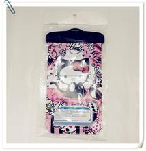 hello kitty waterproof cell phone bag