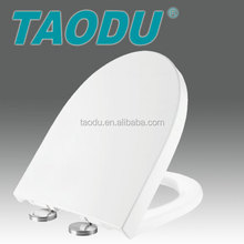 water closet toilet seat Plastic toilet seat cover with quick release funtion
