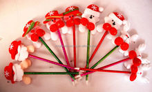 Best Selling Cute Little Doll Christmas Decorations Christmas Ball Pen