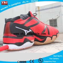 famouse brand inflatable shoes/branded inflatable shoes for advertising