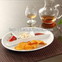 ceramic divided plate