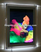 Crystal Acrylic LED sign boards for shops
