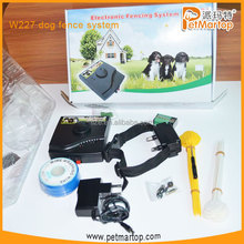 New portable smart inground electronic dog fence portable wire fence for dog TZ-W227 pet fence