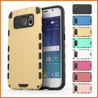 New rugged rubber mobile phone cover for galaxy s6 case