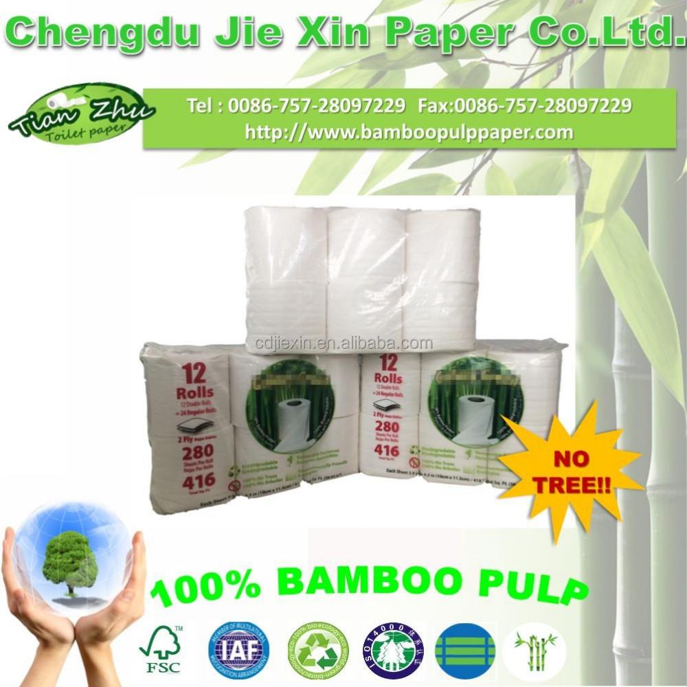 Bamboo Toilet Paper Toilet Paper Toilet Tissue