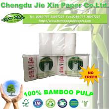 100% virgin bamboo enviromentally friendly toilet paper toilet tissue bathroom tissue 2 ply 6 rolls/pcak