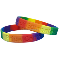 Cheapest Swirled Debossed Only Personalized Silicone Bracelet