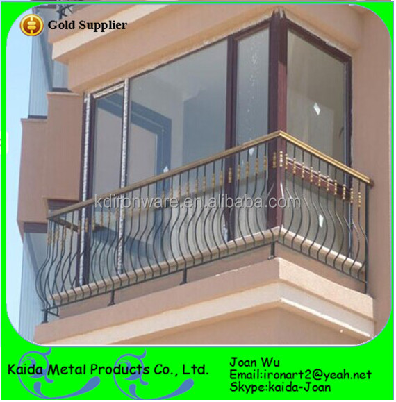 Morden Wrought Iron Juliet Balcony Railings Design View