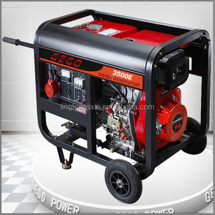 Small Electric Generator : Gego small electric generator diesel kva with price buy